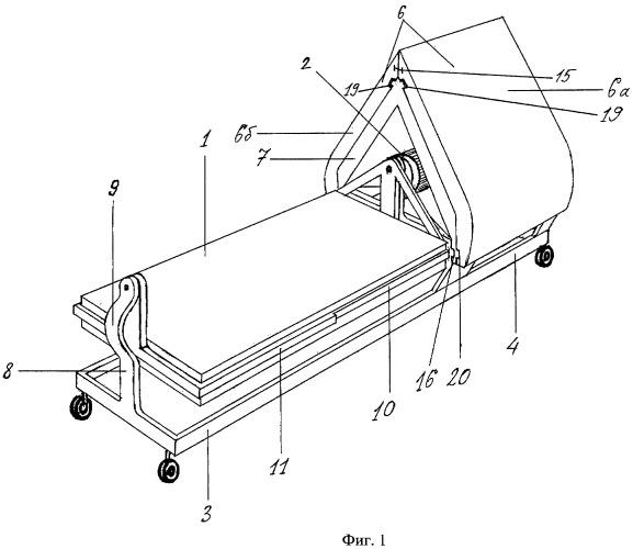 Кинетическая кровать