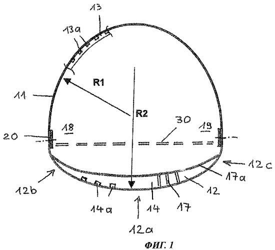 Фюзеляжная конструкция воздушного судна и способ изготовления этой конструкции