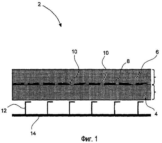 Изоляционная структура для тепловой и акустической изоляции летательного аппарата