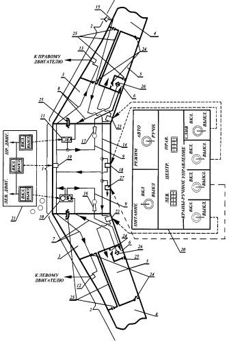 Способ балансировки запаса топлива в крыльевых баках самолета при работе на земле (варианты)