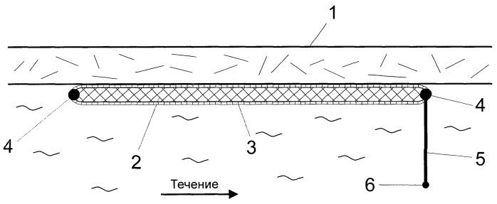 Устройство для сбора нефти под поверхностью льда