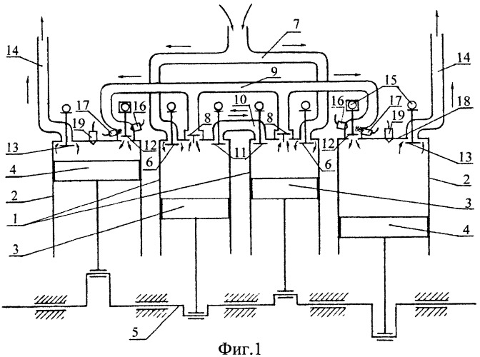 Двигатель внутреннего сгорания меньшова