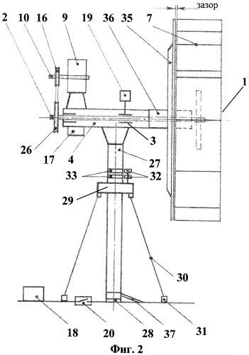 Ветроэнергетическая машина с противонапорным экраном