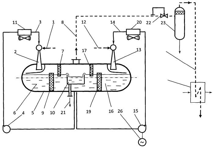 Способ утилизации низкопотенциальных газов