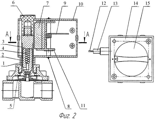 Бессальниковый клапан с механическим дистанционным управлением
