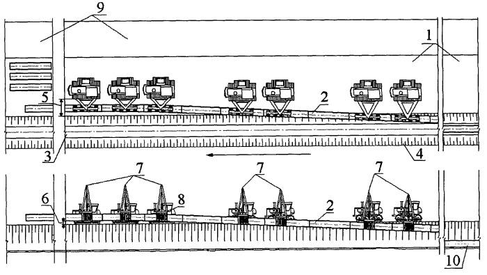 Способ укладки трубопровода