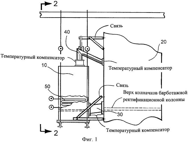 Интегральное устройство для охлаждения шлака в псевдоожиженном слое