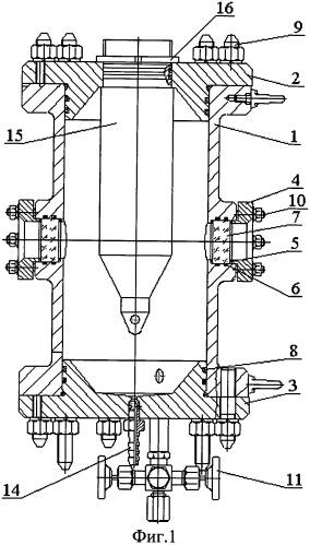 Стенд для электро-термо-бароиспытаний узлов скважинных приборов