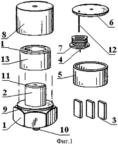 Метод станочного изготовления сдвигового измерительного датчика