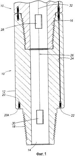 Способ и прибор для определения местоположения неисправности в кабельной бурильной трубе