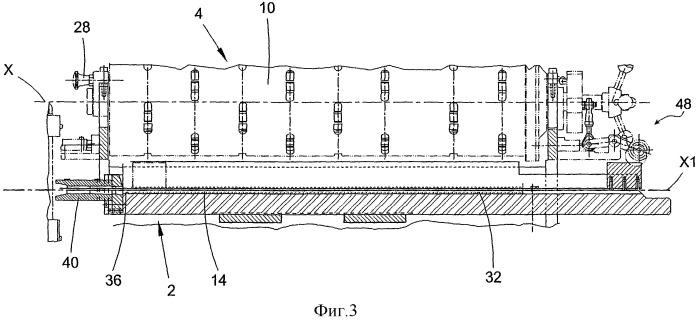 Устройство установки пружин для стержневого тепловыделяющего элемента ядерного реактора