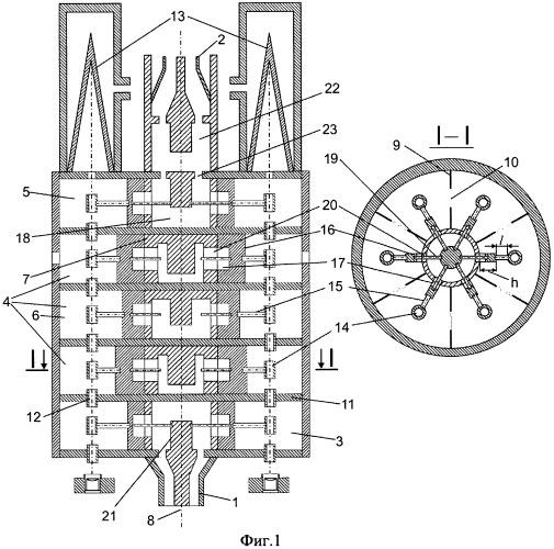Широкополосный многолучевой клистрон