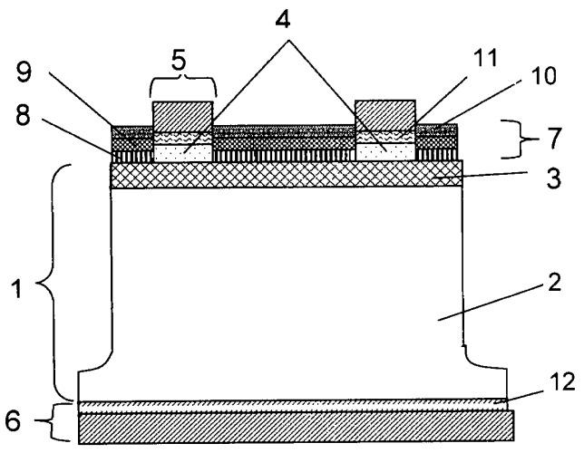 Каскадный фотоэлектрический преобразователь с наноструктурным просветляющим покрытием