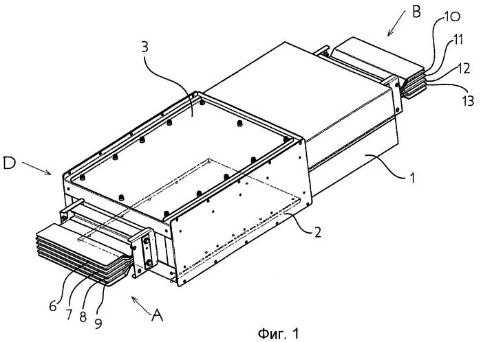 Устройство для электрического соединения двух секций готовой электропроводки с возможностью регулировки по длине