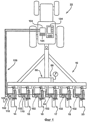 Контрольно-измерительная система дозатора семян