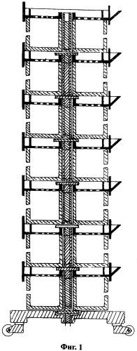 Устройство комнатно-дворовой вертикальной грядки