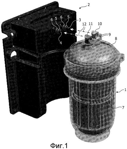 Система очистки воды и фильтрующий элемент для такой системы