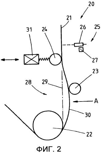Устройство и способ регулирования положения полосы
