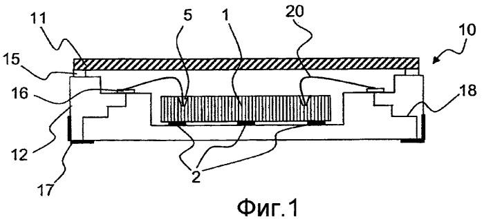 Защитный корпус электромеханической микросистемы, содержащий промежуточный транслятор проводки