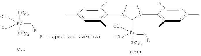 Рутениевый катализатор метатезисной полимеризации дициклопентадиена (варианты) и способ получения полидициклопентадиена (варианты)