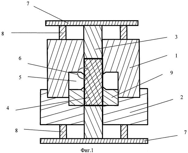 Способ деформирования для получения заготовок в субмикрокристаллическом и наноструктурированном состоянии и устройство для его осуществления