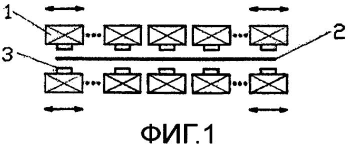 Способ и установка для нанесения защитного покрытия погружением в расплав для стабилизации полосы с нанесенным покрытием, пропускаемой между сдувающими соплами установки для нанесения покрытия погружением в расплав