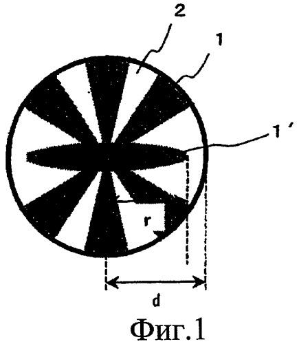 Расщепляющееся сопряженное волокно, его агрегат и волокнистая форма, выполненная из расщепляющегося сопряженного волокна