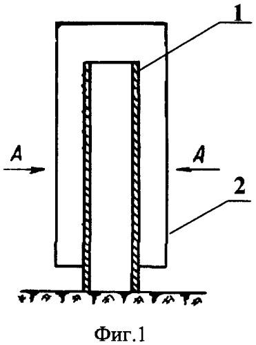 Способ образования фильтрующей оболочки вокруг дренажной трубы