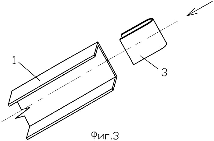 Узел соединения тонкостенного сжатого элемента