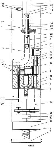 Перфоратор для получения каналов в обсаженной скважине