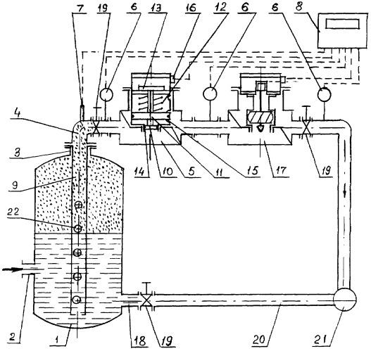 Способ определения количества и состава трехкомпонентной продукции нефтяных скважин и устройство для его осуществления