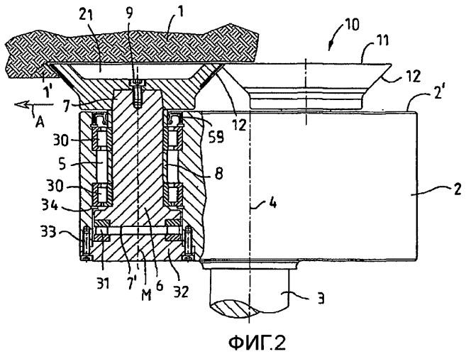 Шарошечный буровой инструмент или шарошечное долото