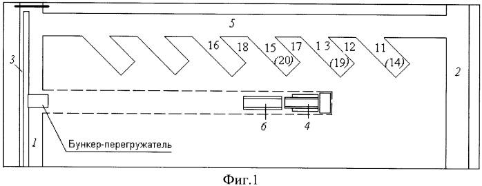 Способ разработки участка мощного пологого угольного пласта