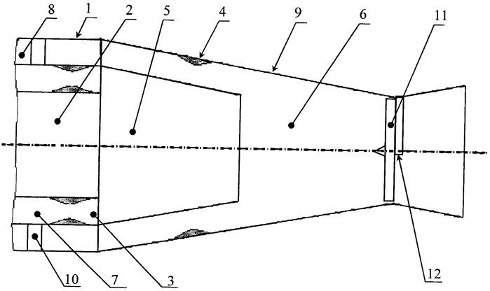 Сверхзвуковой газовый эжектор