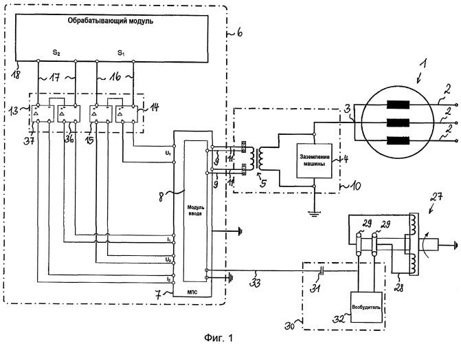 Устройство и способ для определения электрических параметров