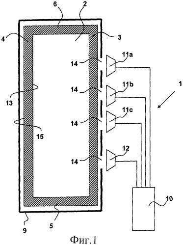 Способ и устройство для обнаружения перемещения поверхности объекта