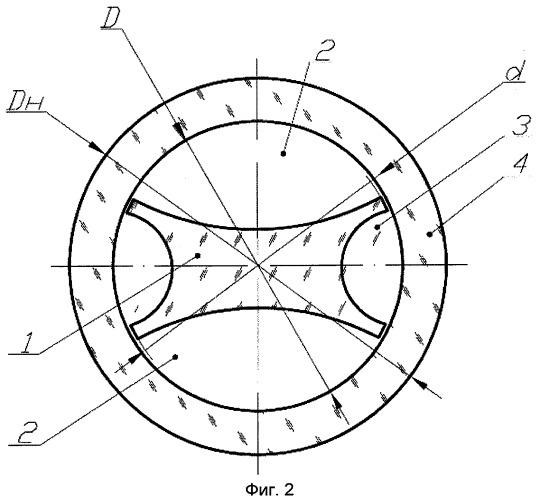 Способ изготовления двулучепреломляющего микроструктурного оптического волокна