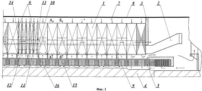 Система вентиляции электрической машины (варианты)