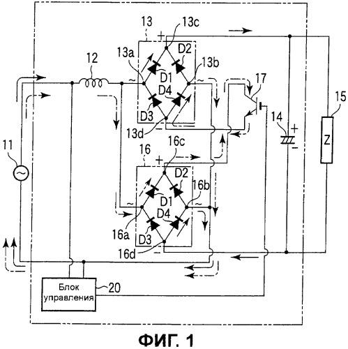 Устройство источника питания постоянного тока
