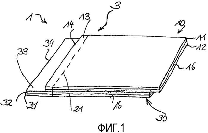 Шовная соединительная структура, предмет одежды с шовной соединительной структурой и способ изготовления шовной соединительной структуры