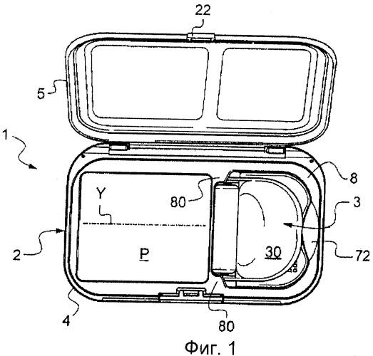 Контейнерное и аппликаторное устройство, содержащее аппликаторный ролик