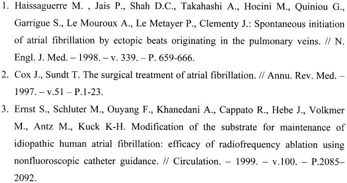 Способ лечения постоянной формы фибрилляции предсердий трансвенозным эндокардиальным доступом