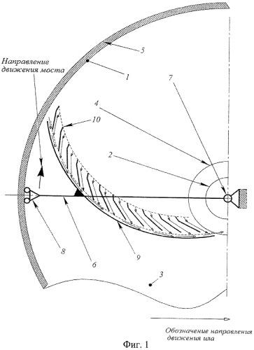 Способ механического удаления осадка из чаши радиального отстойника