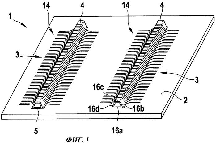 Способ изготовления конструктивного компонента из армированного волокнами композиционного материала с использованием складного формовочного стержня и формовочный стержень