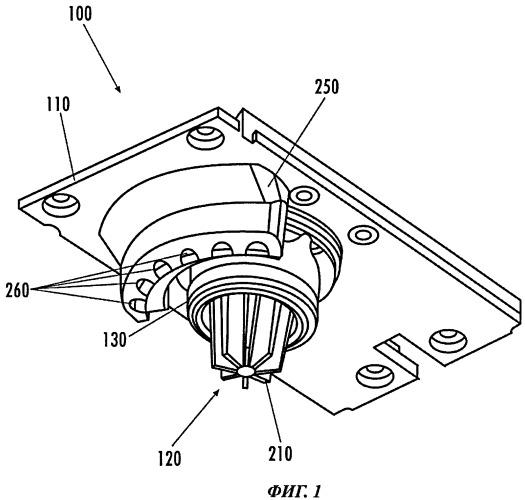 Сопловое устройство разливочного аппарата
