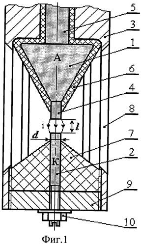Электродная система скважинного электрогидравлического устройства (варианты)