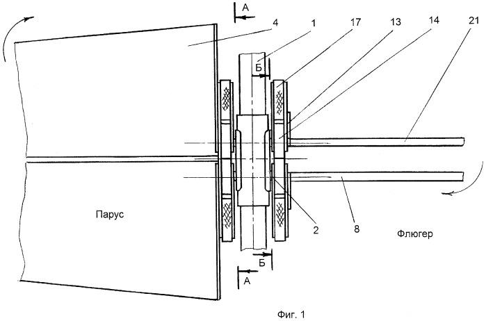 Модуль ветроколеса карусельного типа
