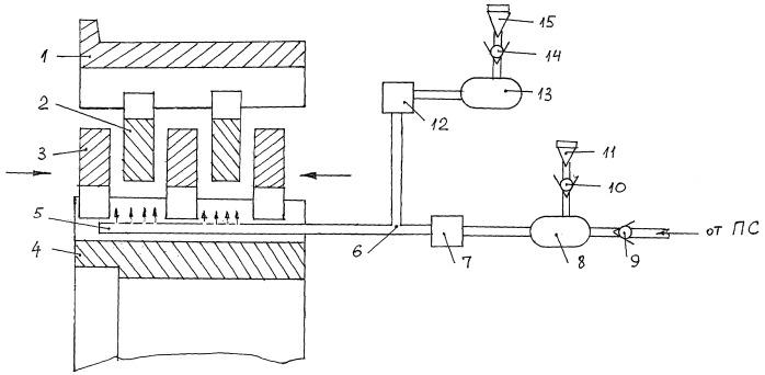 Система охлаждения тормозов колес летательных аппаратов