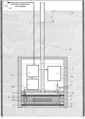 Дифференциальный датчик вариаций уровня жидкости