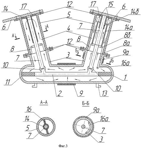 Баковый электрический аппарат с газовой изоляцией